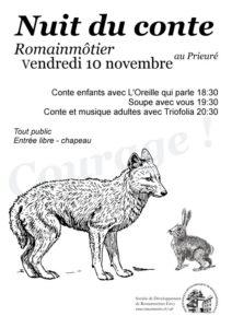 Nuit du conte 2017, Romainmôtier