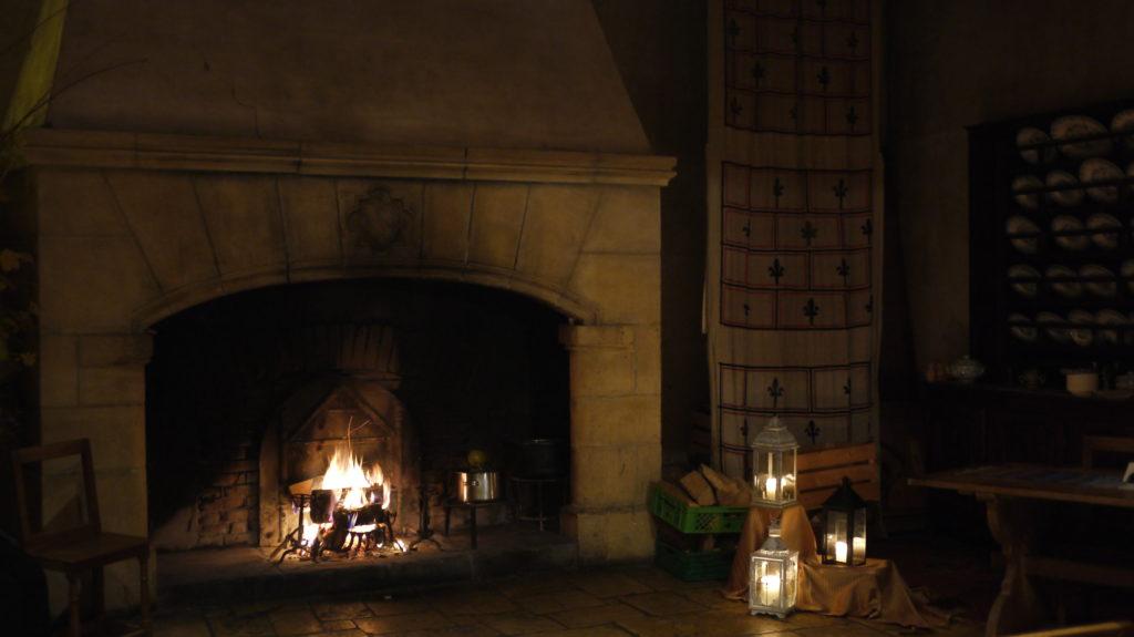 La salle des chevaliers du Prieuré