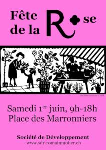 Flyer Fête de la Rose 2019