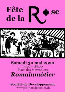 Fête de la Rose 2020, Romainmôtier